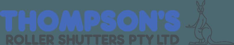Thompsons Roller Shutters Retina Logo